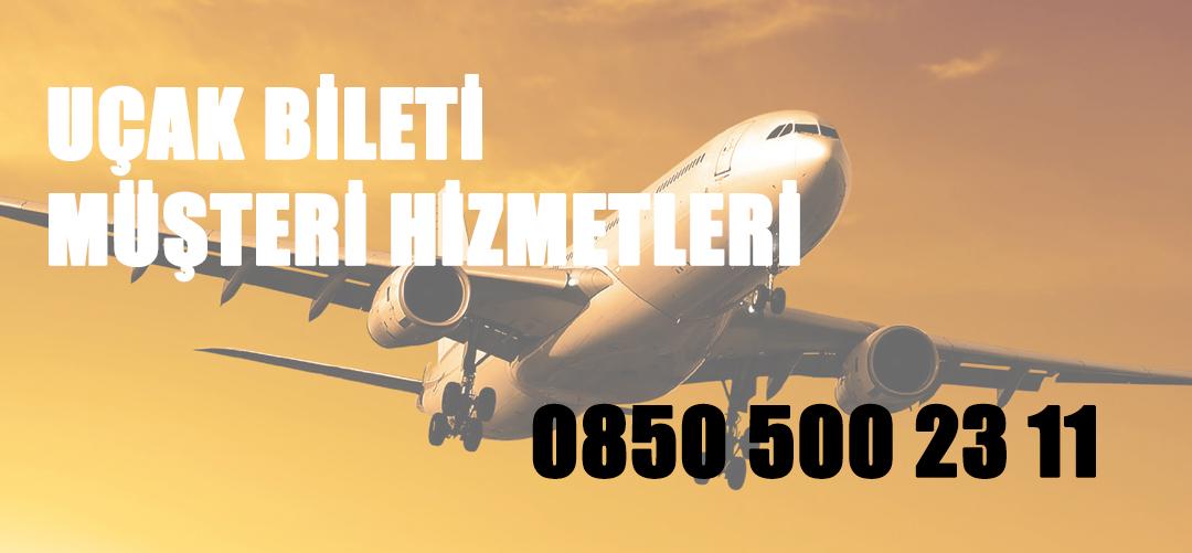 uçak bileti müşteri hizmetleri